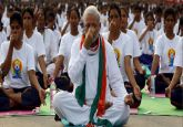 Yoga Day 2019: Shalabhasana to Surya Namaskar, PM Modi shows how to perfect every pose