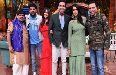 The Kapil Sharma Show: Ekta Kapoor, Mallika Sherawat, Tusshar Kapoor promote their first horror web series