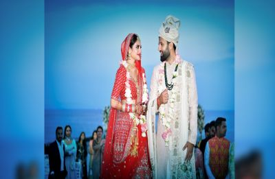 Nusrat Jahan, actor and newly elected Trinamool MP, marries Kolkata businessman Nikhil Jain