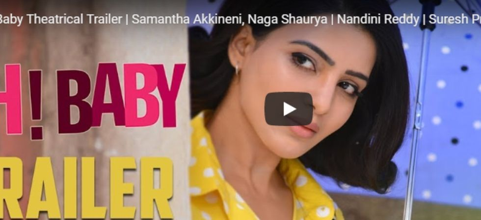 Oh Baby trailer out! Samantha Akkineni sizzles in new comic avatar