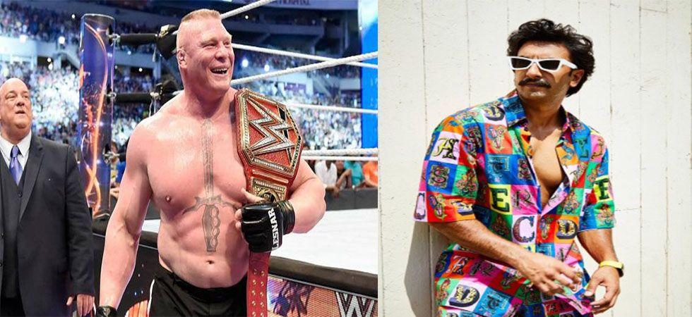 Ranveer Singh gets legal notice from WWE superstar Brock Lesnar's advocate (Twitter)