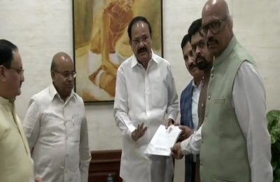 4 TDP Rajya Sabha MPs, including former Union minister YS Chowdary, quit party to join BJP