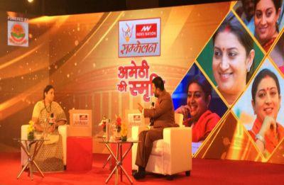 Hamari Sansad Sammelan: Session 9 – Yoga tweet shows Rahul's 'neech soch', says Smriti Irani