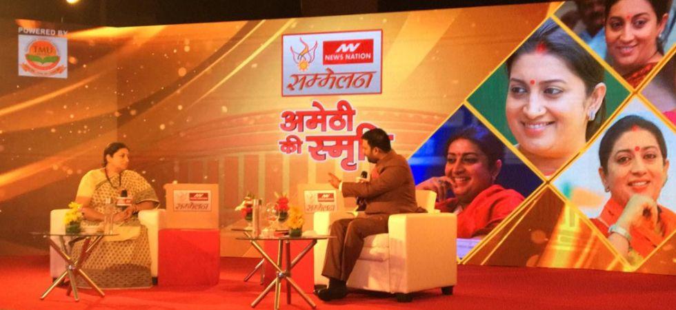 Hamari Sansad Sammelan: Session 9 – Yoga tweets shows Rahul Gandhi's 'neech soch', says Smriti Irani