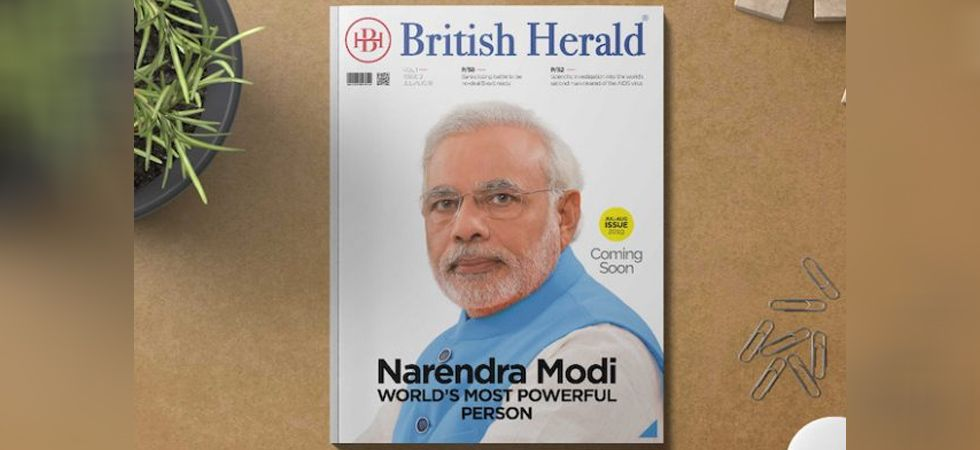PM Modi will feature on the cover page of July edition of British Herald Magazine. (Image Credit: British Herald)