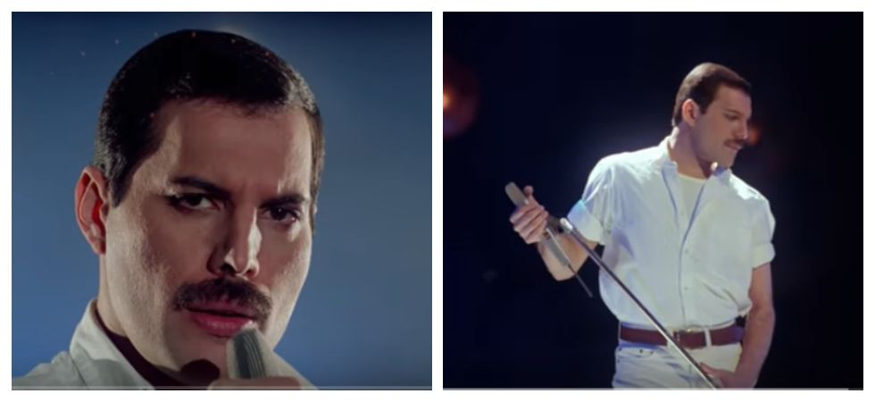 Freddie Mercury's sings ''Time Waits For No One' in Never-Before-Seen video (Photo: YouTube)