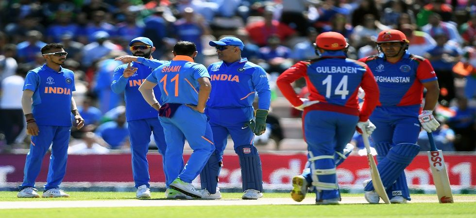 India managed to score 224 runs against Afghanistan in World Cup 2019 (Image Credit: Twitter)