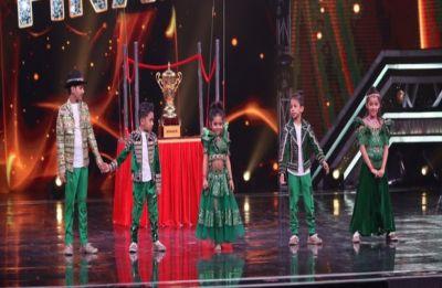 Super Dancer 3 Grand Finale: Rupsa Batabyal lifts trophy, takes away prize money of Rs 15 lakh
