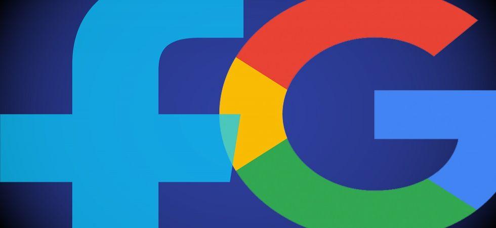 Tech giants Google and Facebook (Representational Image)