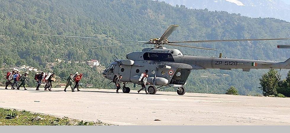 Body retrieving operation at Nanda Devi peak (File Photo)