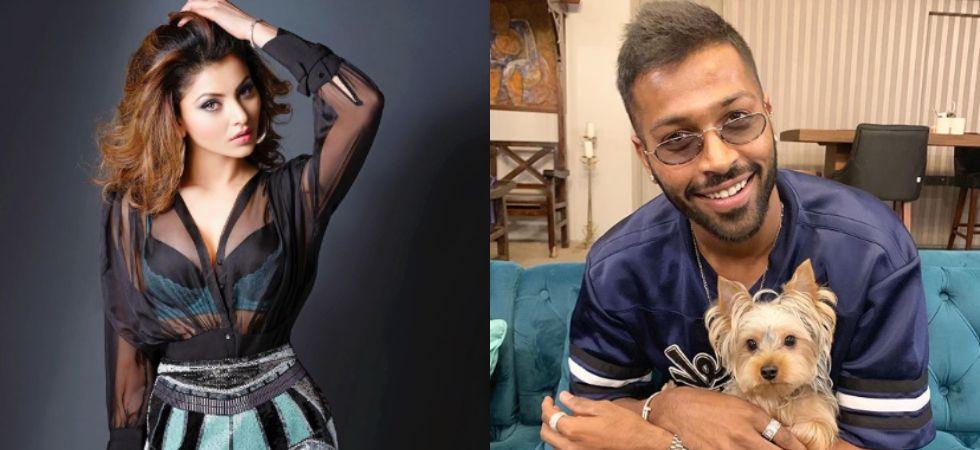 Urvashi Rautela and Hardik Pandya.