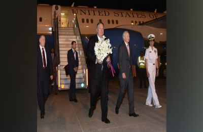 US Secretary of State Mike Pompeo reaches India; to meet PM Modi, EAM Jaishankar today