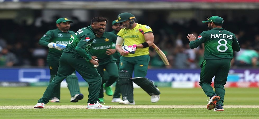 Pakistan are in with a chance of reaching the semi-final after they defeated South Africa in Lord's in the 2019 ICC Cricket World Cup. (Image credit: Getty Images)