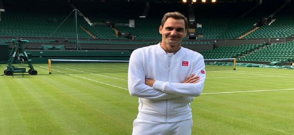 Roger Federer will be gunning for a record ninth title in Wimbledon, a feat no male tennis player has achieved. (Image credit: Roger Federer Twitter)