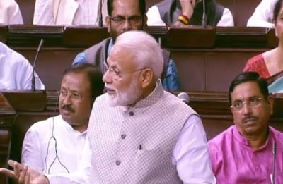 PM Modi addresses Rajya Sabha, says Jharkhand incident deeply saddening