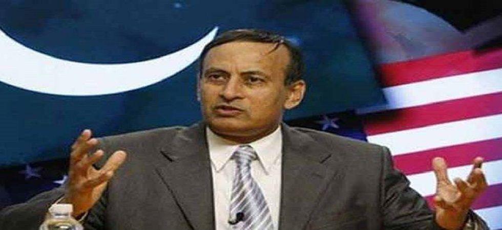 Pakistan's former ambassador to the US Husain Haqqani