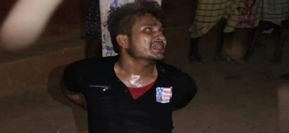 Tarbez was lynched by a mob in suspicion of theft and seen in a purported video being forced to chant