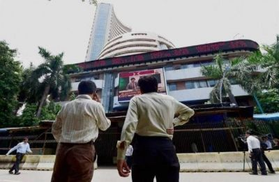 Sensex up 100 points, Axis bank among top gainers in early trade