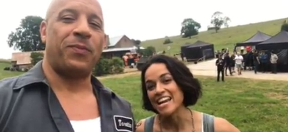 Vin Diesel and Michelle Rodriguez kickstart shooting for Fast & Furious 9.