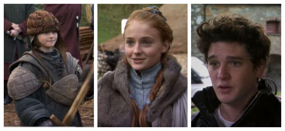 Game of Thrones reunion (Photo: YouTube)