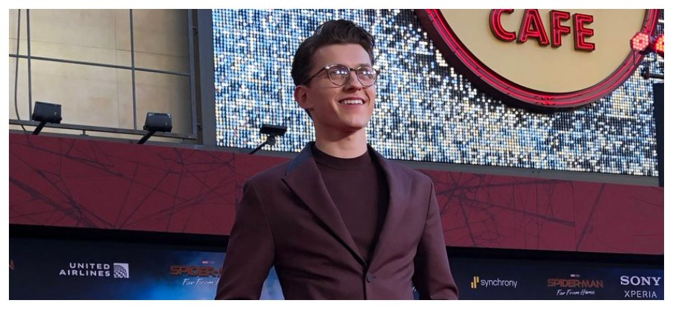 Try my best to be a good role model as Spider-Man says Tom Holland (Photo: Twitter)
