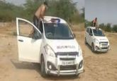 TikTok video of push-ups on Delhi Police vehicle goes viral, cops say car belonged to private contractor
