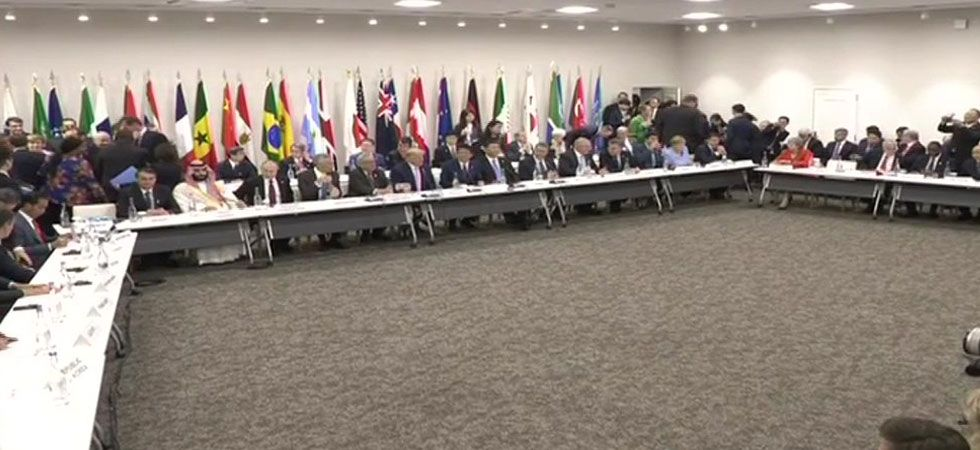 World leaders gather in Japan on Friday for one of the most important G20 meetings in years (Photo: Twitter@ANI)