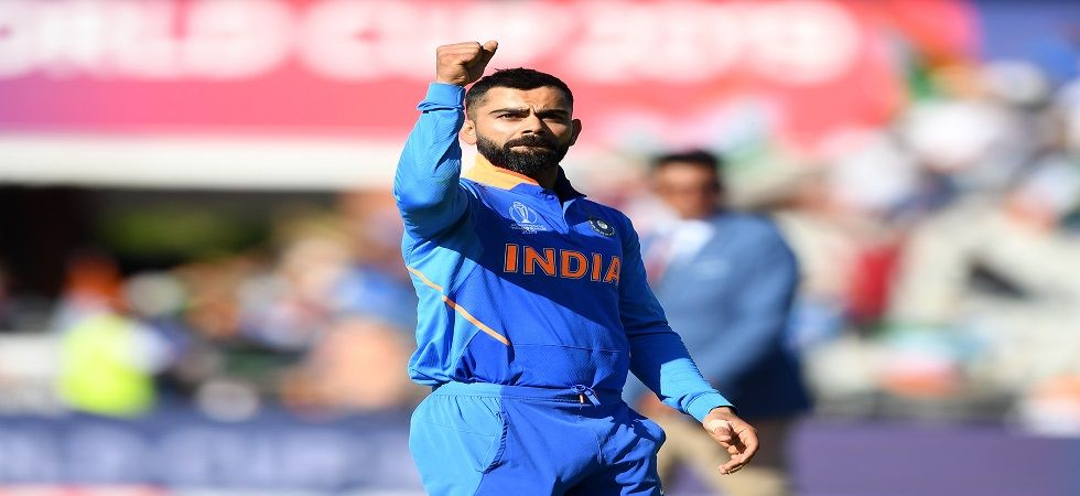 Virat Kohli's Indian cricket team are only one win away from securing a spot in the semi-final of the ICC Cricket World Cup. (Image credit: Getty Images)