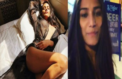Poonam Pandey 'keeps promise'; does cleavage show to celebrate India's win over West Indies