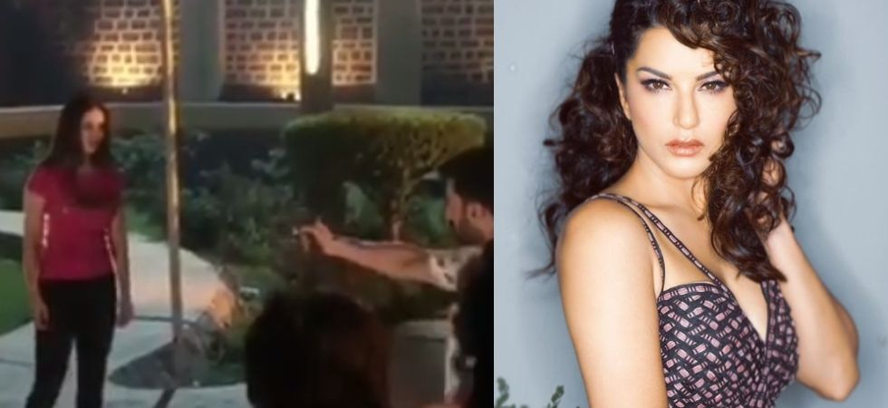Sunny Leone collapses on being shot at movie's set, what happens next will shock you