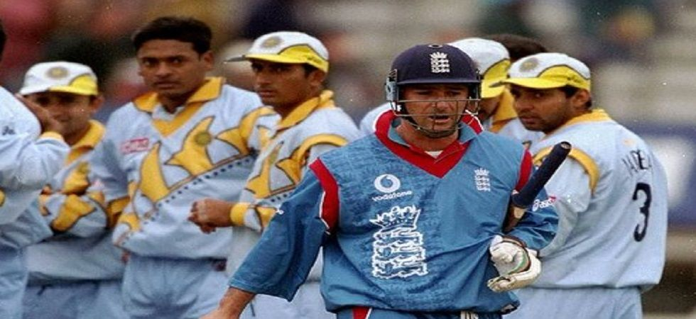 India knocked England out of the 1999 World Cup with a 63-run win in Edgbaston. (Image credit: Twitter)