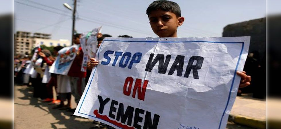 The conflict in Yemen began with the 2014 takeover of the capital, Sanaa, by the Iranian-backed Houthis who drove out the internationally recognized government. (File Photo)