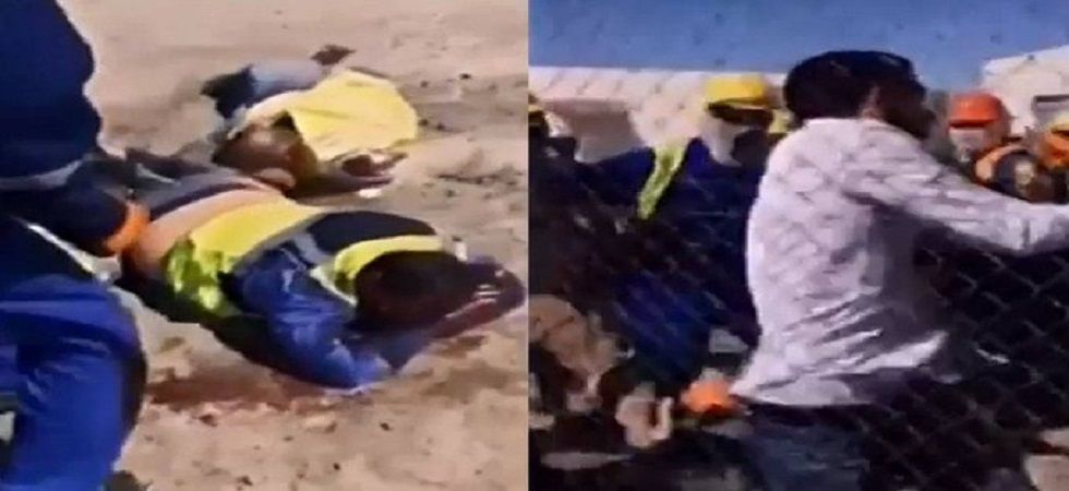 A brawl between Kazakh workers and their Arab colleagues in one of Kazakhstan's largest oil fields has left 30 people wounded.