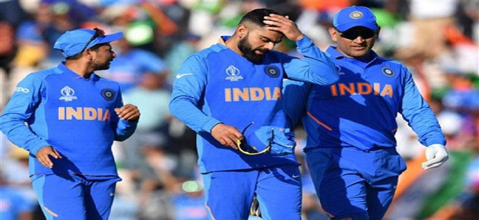 Indian team is currently placed at number two position in World Cup 2019 (Image Credit: Twitter)