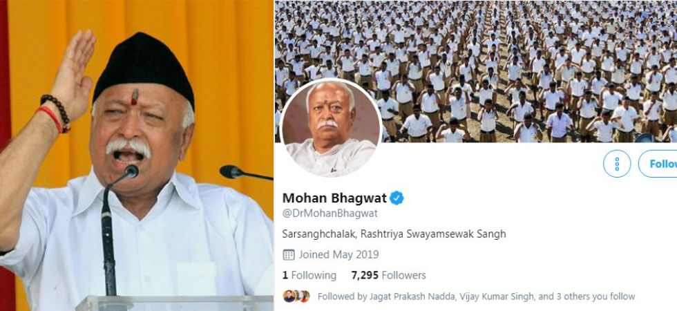 Mohan Bhagwat joins Twitter (Photo Credit: Twitter)