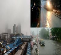 Mumbai witnesses heavy rainfall: Water logging, traffic jam reported in Dadar and Palghar