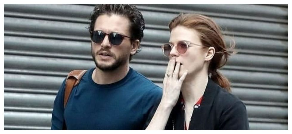 Kit Harington, Rose Leslie spotted for first time after Kit's treatment (Photo: Instagram)