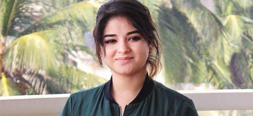 Zaira Wasim.
