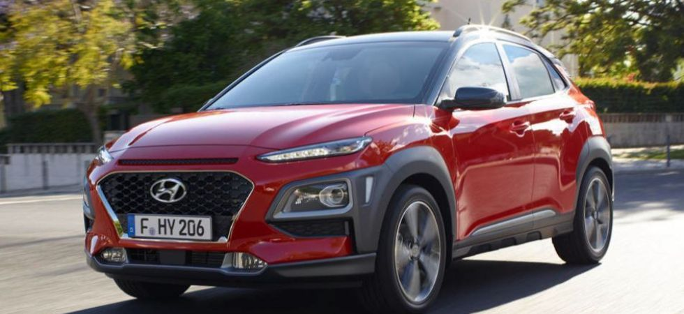 Hyundai Kona electric SUV (Photo Credit: Twitter)