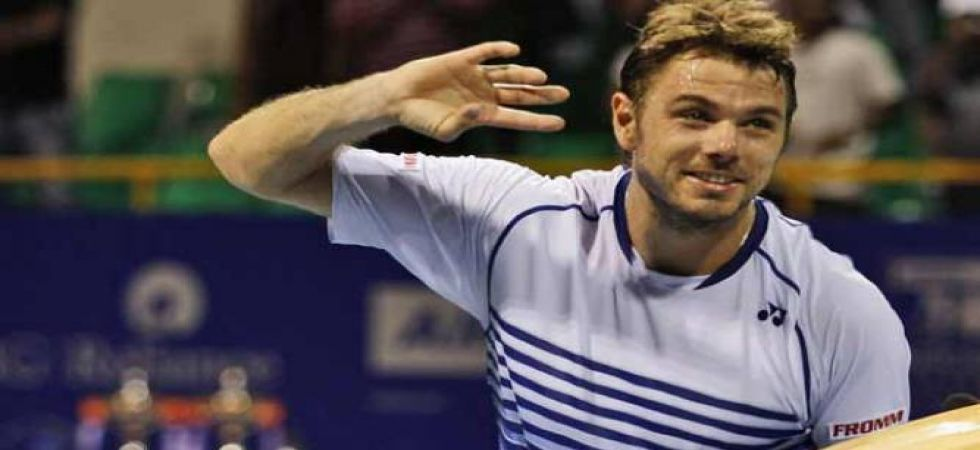 Two-time quarter-finalist Wawrinka, 34, was beaten 7-5, 3-6, 4-6, 6-4, 8-6 by his American opponent. (File Photo)