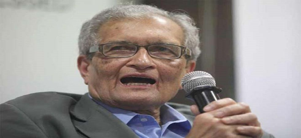 Nobel laureate economist Amartya Sen