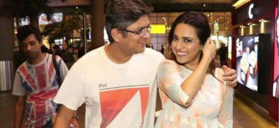 Swara Bhasker and boyfriend Himanshu Sharma.