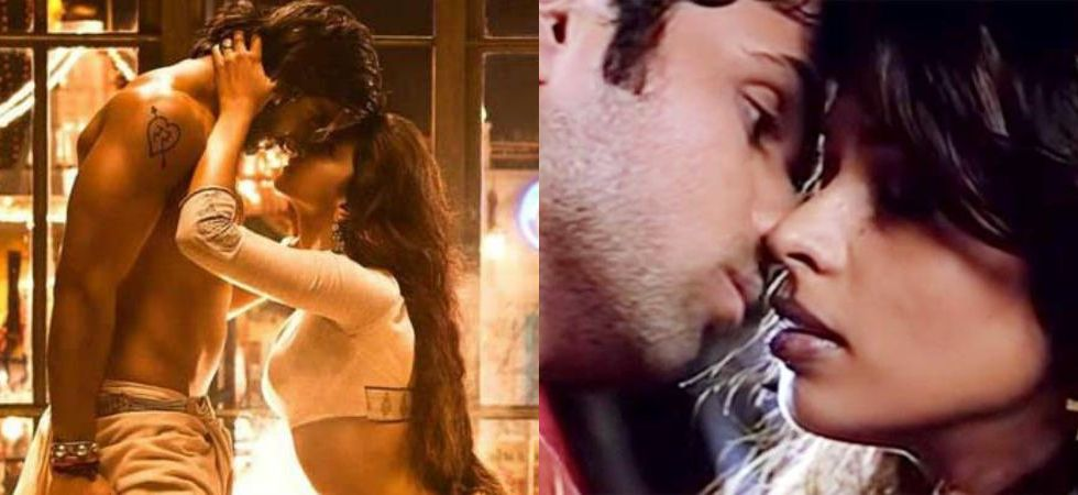 5 iconic kissing scenes in Bollywood.