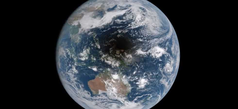 Earth during solar eclipse (Representational image / Photo Credit: Twitter)