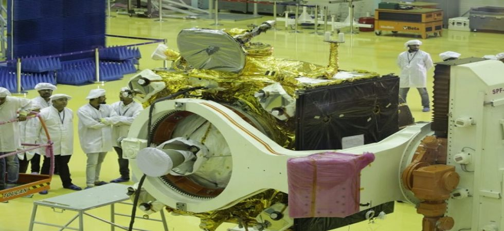First picture of Chandrayaan -(Photo Source: Twitter)