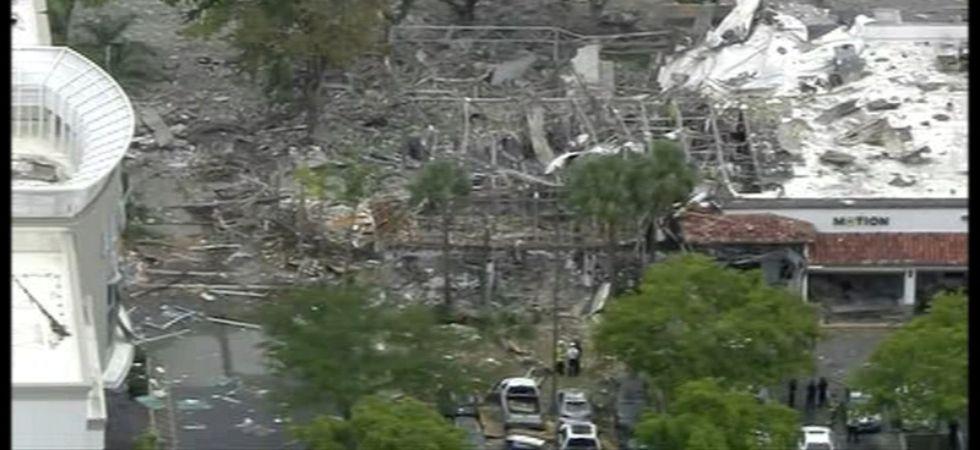 Florida explosion (Photo Credit: Twitter)