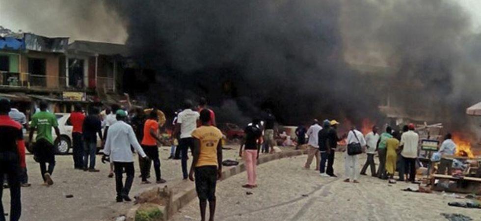 Nigeria airstrike (Photo Credit: Twitter)