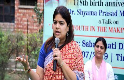 Poonam Mahajan launches BJP's membership dive on JNU campus