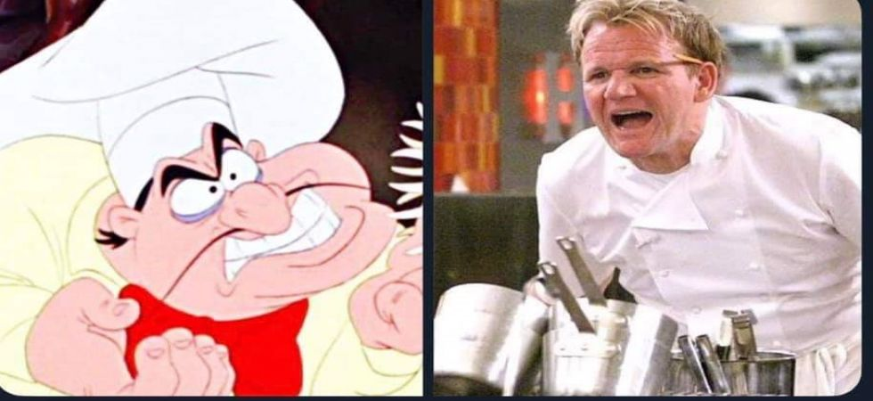 Tweeple want Gordon Ramsay to play angry Chef Louis (Photo: Twitter)
