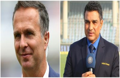 Sanjay Manjrekar blocks Michael Vaughan after getting trolled over Ravindra Jadeja's comment
